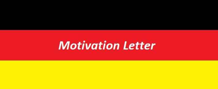Almanya Yüksek Lisans Niyet Mektubu