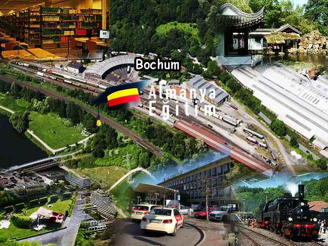 Ruhr Bochum Üniversitesi şehri